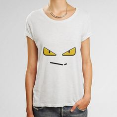 23b06714d44a Zaheire Fendi Monster Eye Woman s T-Shirt