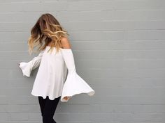 Camilla and Marc Flared sleeve top - Google Search