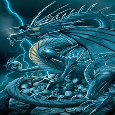 You're the lightning dragon! You're fast and when you concentrate on your goal you strike it right in the middle! Bull's eye! You have an electrifying temper and can get annoyed or mad easily.