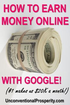 These are some great ways to make money using Google online. So many different ways to earn extra money that anyone can do. Making money online is a great way to supplement your job income and these money tips and tricks will help you. Earn More Money, Ways To Earn Money, Earn Money From Home, Make Money Fast, Make Money Blogging, Money Tips, Money Saving Tips, Money Hacks, Earn Money Online Fast