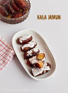 Kala Jamun Recipe   How To Make Kala Jamun At Home