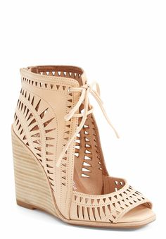 Whipping out these ever-so-stylish vintage-inspired Jeffrey Campbell wedges for the last few weeks of summer.