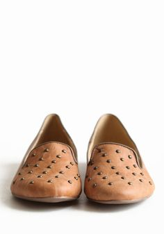 Studded Mystery Loafers