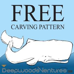 whale - All things to do with Carving - Soap Wood Carving Designs, Wood Carving Tools, Wood Carving Patterns, Wood Patterns, Wood Carvings, Whittling Patterns, Simple Wood Carving, Whittling Wood, Soapstone Carving