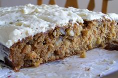 Blue Ribbon Carrot Cake [with Buttermilk Glaze] Recipe - Food.com