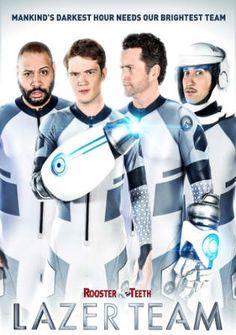 Poster of Lazer Team 2015 Full Movie BRRip 480p 300Mb English ESubs