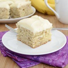 Banana Bars with Cream CheeseFrosting