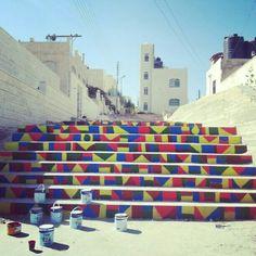 Streetart,  Amman, Jordan #Baderah
