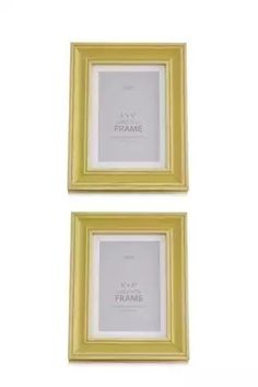 Display your moments in beautiful photo frames with single & multi picture frames for weddings & occasion pictures. Yellow Picture Frames, Picture Wall, Ochre Bedroom, Master Bedroom, First Photograph, New Living Room, Entryway Decor, The Hamptons, Mauve