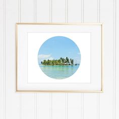 Check out this item in my Etsy shop https://www.etsy.com/listing/255493442/tropical-island-prints-modern-circle