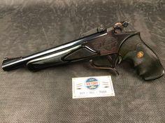 "Excellent #Thompson Center #Contender .22 10"" | Victory Guns & Guitar Works, LLC Revolvers, Handgun, Firearms, Thompson Contender, Thompson Center, Gun Vault, You Magazine, Taxidermy, Shotgun"