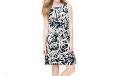 Your day will be easy breezy in this palm-frond-printed frock | Washingtonian