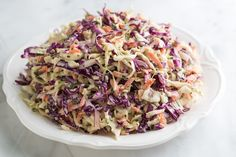Joanne's Favorite Coleslaw Recipe from Inspired Taste - Fresh, Lively and Colorful