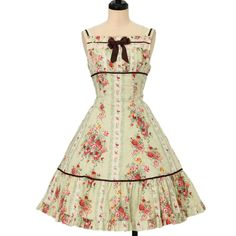 Rose and tulip flare jumper skirt Innocent World