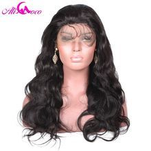 Ali Coco 130% Density Lace Front Wigs Body Wave With Baby Hair Natural Black Color Medium Cap Size     Wholesale Priced Wigs, Extensions, And Bundles!     FREE Shipping Worldwide     Buy one here---> http://humanhairemporium.com/products/ali-coco-130-density-lace-front-wigs-body-wave-with-baby-hair-natural-black-color-medium-cap-size/  #wigs