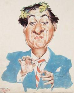 Sid Caesar by John Johns...D R E W • F R I E D M A N