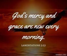 Lamentations 3:23 | Bible Verses
