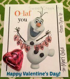 Olaf valentine