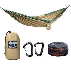 rest point double hammock   premium set  double parachute nylon hammock wiregate aluminum carabiners 9 double camping hammock portable parachute nylon hammocks premium      rh   pinterest