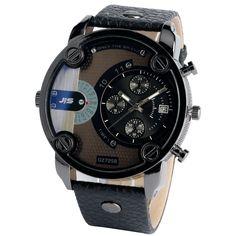 $9.26 (Buy here: https://alitems.com/g/1e8d114494ebda23ff8b16525dc3e8/?i=5&ulp=https%3A%2F%2Fwww.aliexpress.com%2Fitem%2FAnalog-Leather-Band-Strap-Luxury-Men-Fashion-Calendar-Military-Quartz-Round-Dial-Sport-Wrist-Watch-Date%2F32750901107.html ) 2016 Analog Cool Teenager Wristwatches Steampunk Big Dial Men Wrist Watch Leather Strap Sports Outdoor Quartz-watch for just $9.26