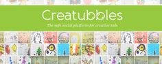 Creatubbles - Share Creations from your own children or students. Or simply browse some amazing visual Creations from children all over the world!