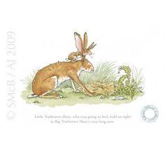 Anita Jeram - Little Nutbrown Hare held on tight#Anita Jeram#Little Nutbrown Hare held on tight
