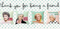 Throw Pillows | 23 Golden Girls Gifts To Say Thank You For Being A Friend