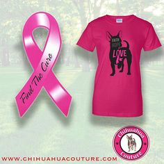 This touches home for us.  Support breast cancer awareness all year around!!!  #breastcancer #pink #awareness #chihuahuas #chihuahua #doglovers #love #dogs #xoxo #cause #support