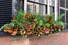 https://flic.kr/p/qjhYEY | Winter Window Box | Check our website for more  wisteriaandrose.com/
