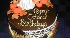 Ha októberben születtél, ez a 10 dolog rád is igaz! Birthday Month Quotes, Birthday Wishes, Birthday Cards, Happy Birthday, October Birthday, Happy October, Wishes Images, Birthdays, Cake
