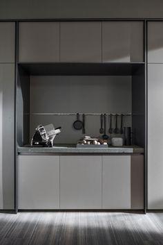 VVD | Kitchen with island By DADA design Vincent Van Duysen