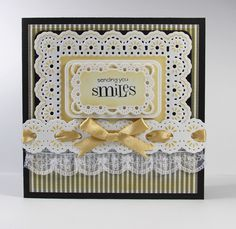 Card created with Spellbinder dies