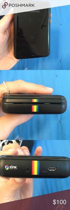 Zink Polaroid printer Polaroid printer for sale, film inside only used like 3 times acacia swimwear Other