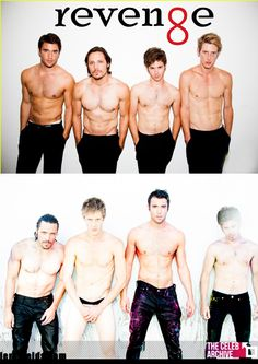 Who wins the best shirtless on Revenge?  1. Nick Wechsler 2. Gabriel Mann 3. Josh Bowman 4. Connor Paolo   Let's vote and Join us > www.thecelebarchive.net