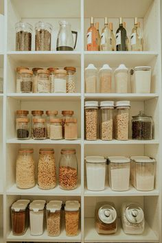 In case. In case you missed the first pantry plan post, here is a quick re-cap! When we first moved into this home we knew we would have to figure out alternative pantry space. Our tiny pantry for a family wasn't quite doing the job for our big family. Kitchen Organization Pantry, Home Organisation, Pantry Storage, Organizing Ideas, Kitchen Storage, Organising, Pantry Labels, Pantry Shelving, Room Organization
