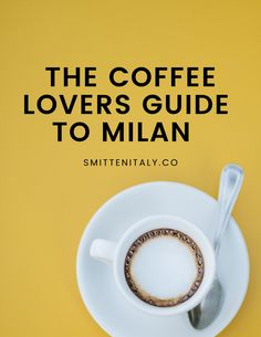 Where to have coffee in Milan. I'm spilling the beans in this mini guide about my favorite places to get coffee in the center of Milano. Save this for your next trip! Coffee Uses, Great Coffee, Coffee Prices, Italy Coffee, Meet Friends, Order Food, Pastry Shop, Bakery Cafe, Learning Italian