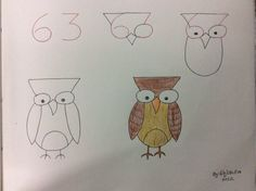 63 Fun Kids Drawings With Number As a Base