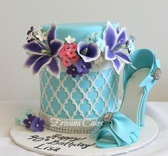 Box of flowers cake - Cake by erivana