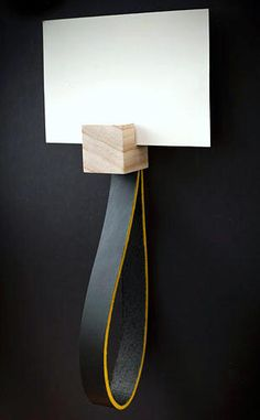 leather & wood / H O O K