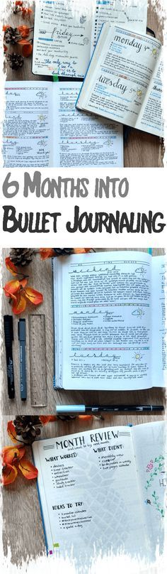 6 Months into Bullet Journaling