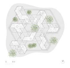 Image 16 of 23 from gallery of Yerbas del Paraíso Commune  / IR arquitectura. General Floor Plan