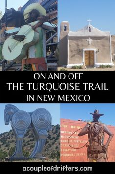Road Trips on the Turquoise Trail in New Mexico - A Couple of Drifters - Alaska Travel, Alaska Cruise, Canada Travel, Travel Usa, Usa Roadtrip, American Attractions, Travel New Mexico, Mexico Vacation, Places To Travel