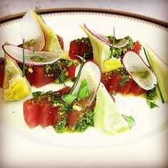 Tuna and artichoke by Daniel Brooks