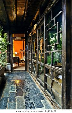 Chinese Interior, Asian Interior, Japanese Interior, Interior Ideas, Chinese Buildings, Chinese Architecture, Interior Architecture, Photo Japon, Traditional Chinese House