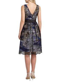 Jenny print lace over short dress  Jenny print lace over short dress