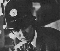 George Harrison in a British Bobby Hat. Photo by Ringo Starr.