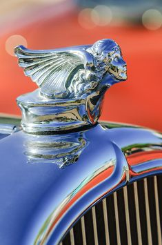 1927 Buick Goddess Hood Ornament Photograph by Jill Reger