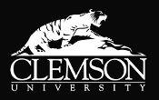 New Custom Screen Printed T-shirt Clemson University Tiger Small