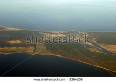 Aerial photograph taken from airplane over Western Europe on around 10 000 m altitude by AndreasG, via ShutterStock