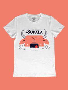 Mozzarella di bufala by Yehteh Italian Recipes, Shirt Designs, Mens Tops, T Shirt, Collection, Style, Fashion, Italian Foods, Culture